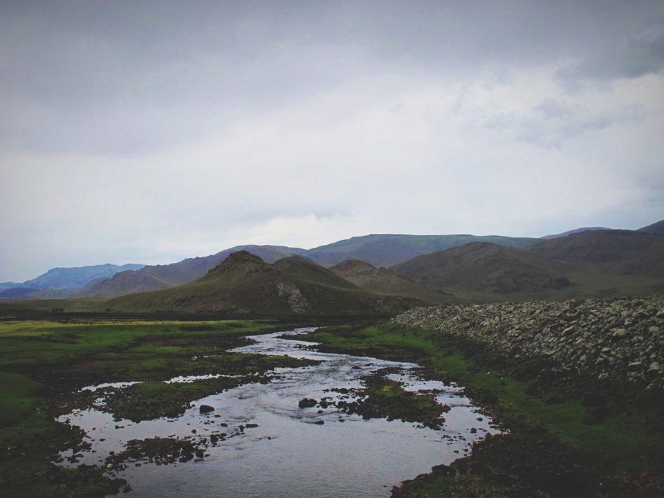 bigousteppes mongolie chute paysage