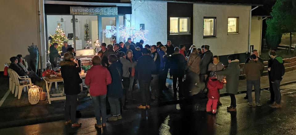 Treffen in der von-Eichendorff-Straße am 16.12.2019