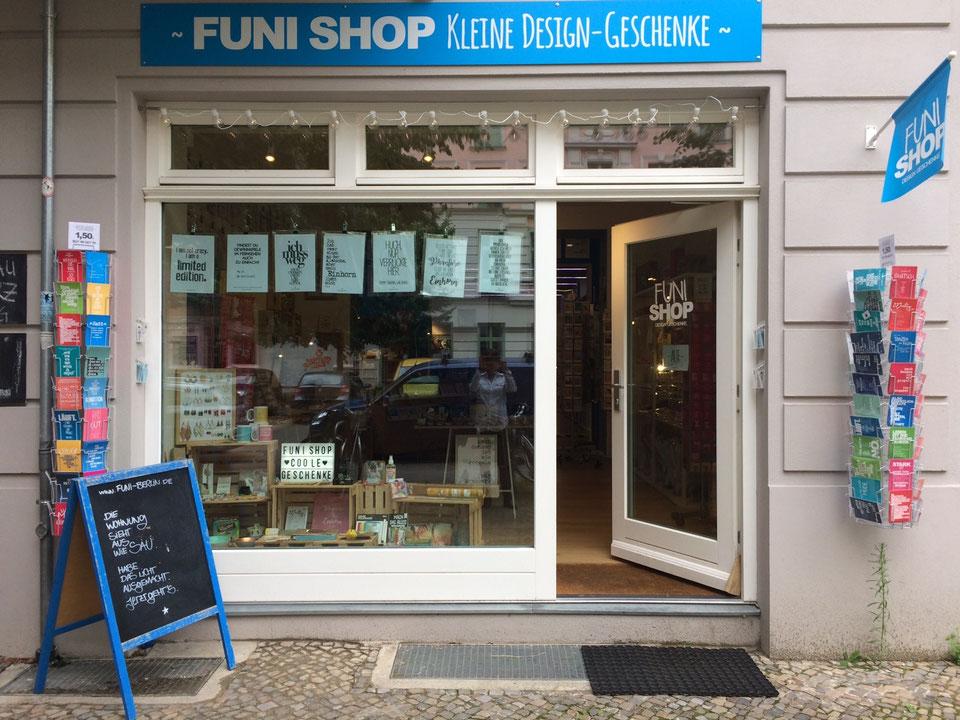 Hello FUNI SHOP, Rykestraße 16, 10405 Berlin. Auf eine Neues ;)