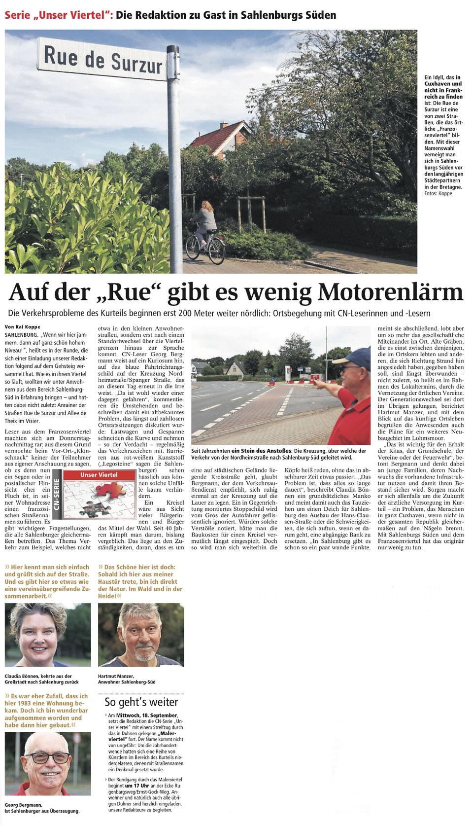 Cuxhavener Nachrichten vom 03.09.2019, Seite 10