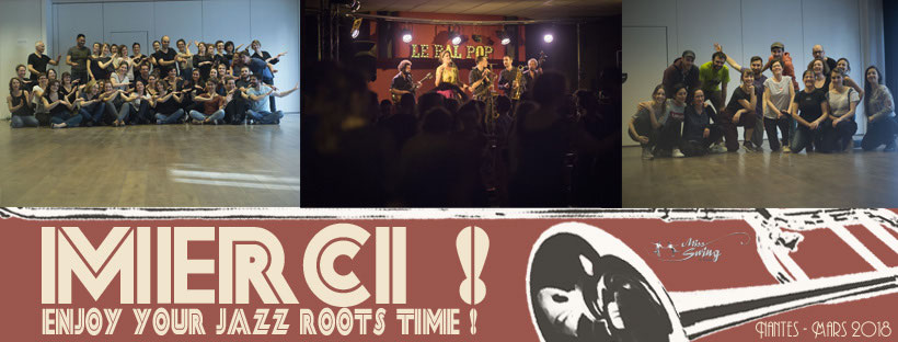 Nantes - 17-18/3/2018 - Enjoy Your Jazz Root Time - Miss Swing & Friends