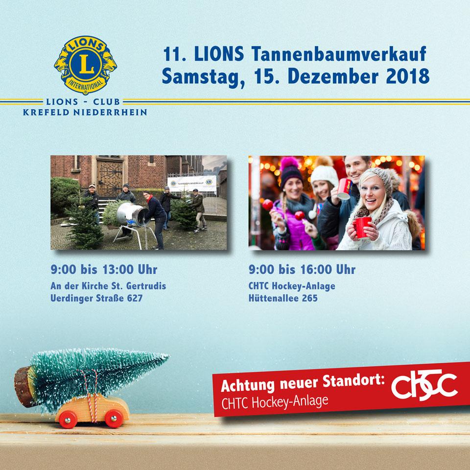 Weihnachtsbaumverkauf - Lions-Club Krefeld-Niederrhein