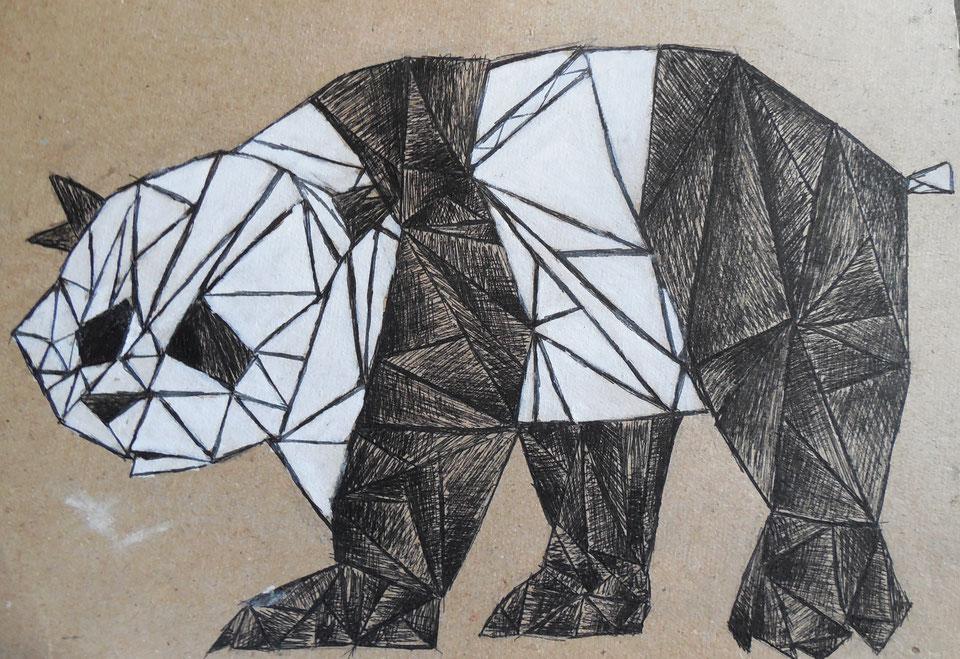 Картинки из треугольников для подростков современные, цветы картинки фото