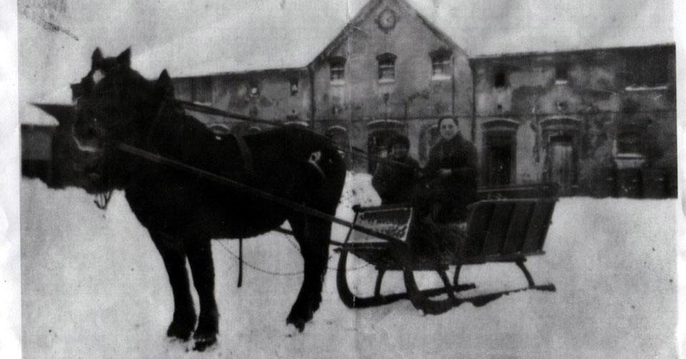 Wunschwitz, Pferdeschlitten