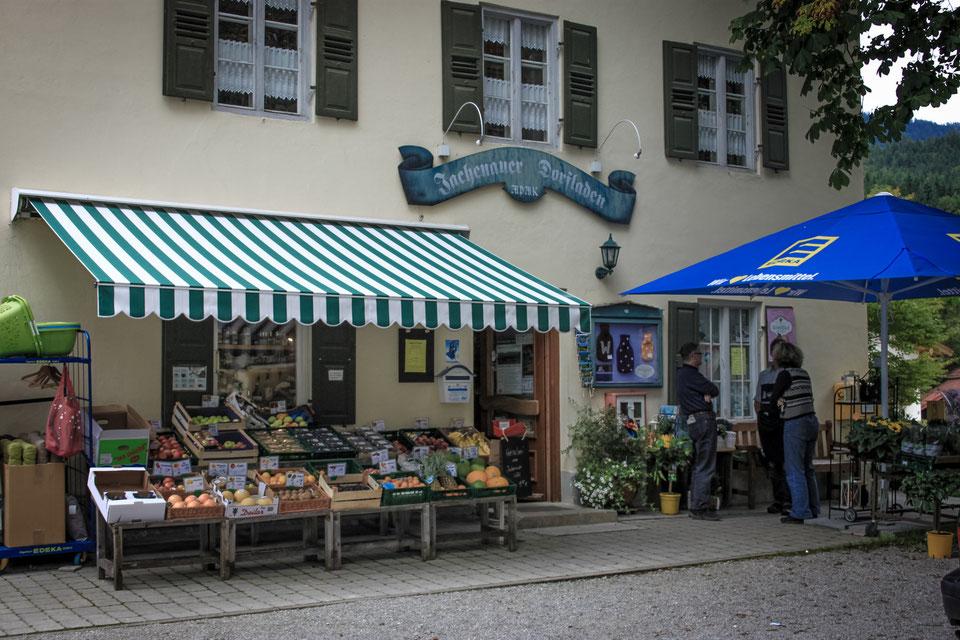 Jachenauer Dorfladen Jachenauer Dorfladens Webseite