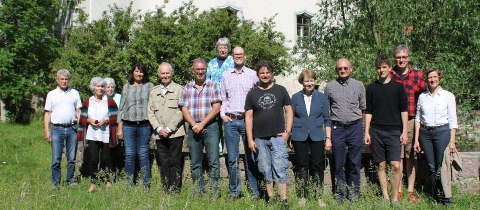 Zusammenkunft des Fördervereins Schloss Heynitz e.V. 2019, Foto: Eike von Watzdorf