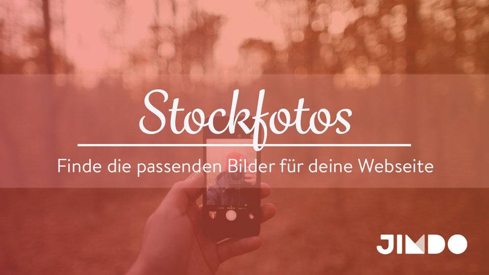 Jimdo Webinar Stockfotos Bilder Webseite einfügen