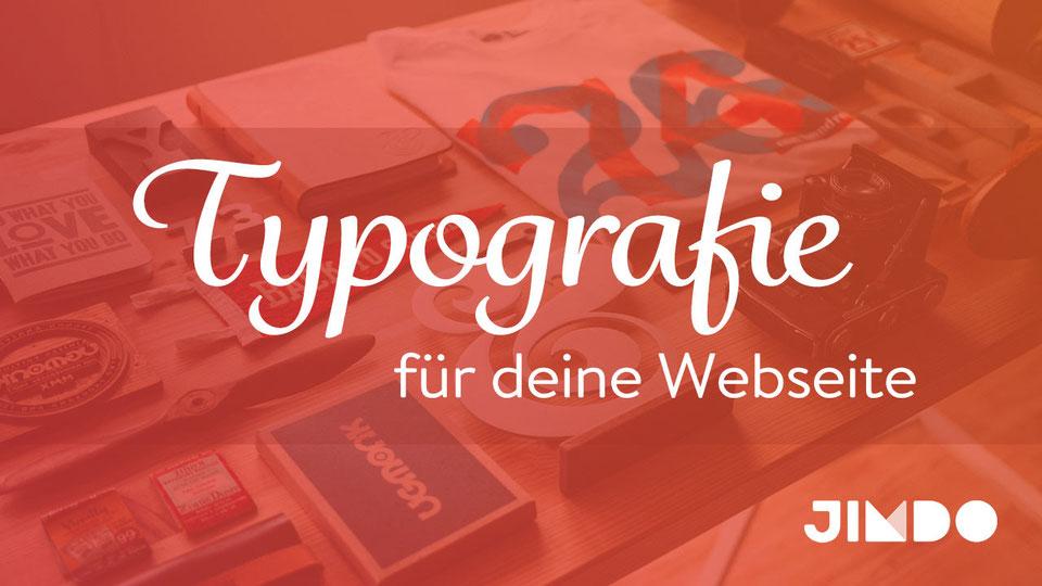 Jimdo Webinar Typografie Tipps Webseiten Gestaltung