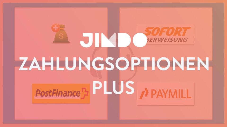 Jimdo Webinar Tipps Zahlungsoptionen Plus AddOn