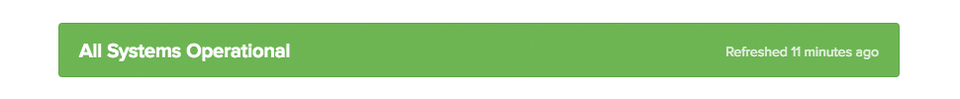 Systemstatus auf www.jimdo-status.com