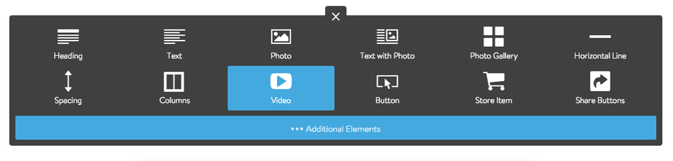 Add a Video Element