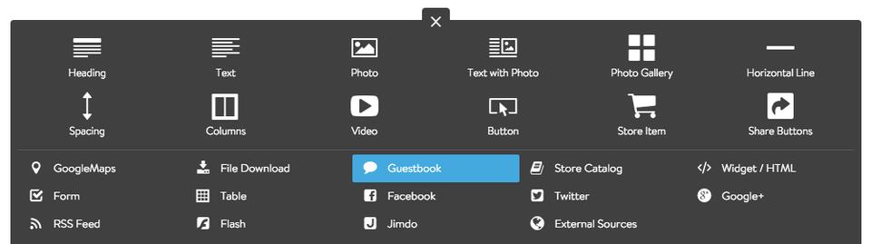 Add Guestbook