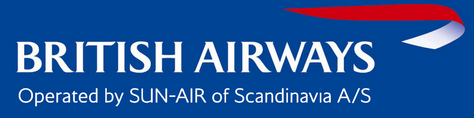 British Airways operated by Sun Air of Scandinavia