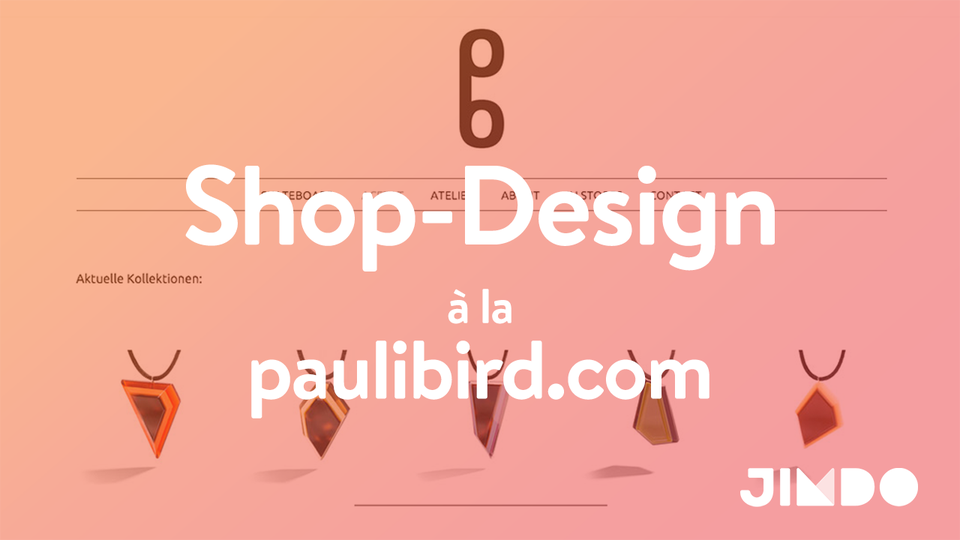 Jimdo Webinar Shop-Design Tipps