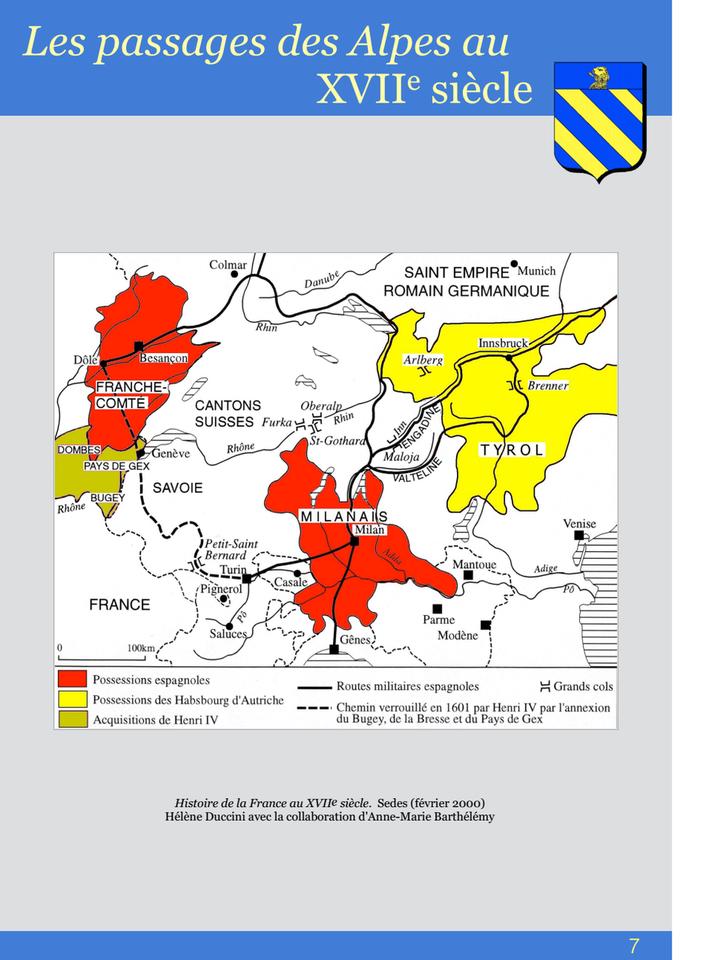 07-Les passages des Alpes au XVII siècle