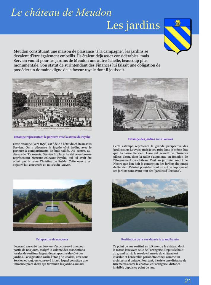 21-Le châteus de Meudon Les jardins