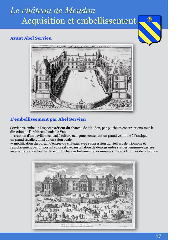 17-Le châteus de Meudon Acquisition et embellissement