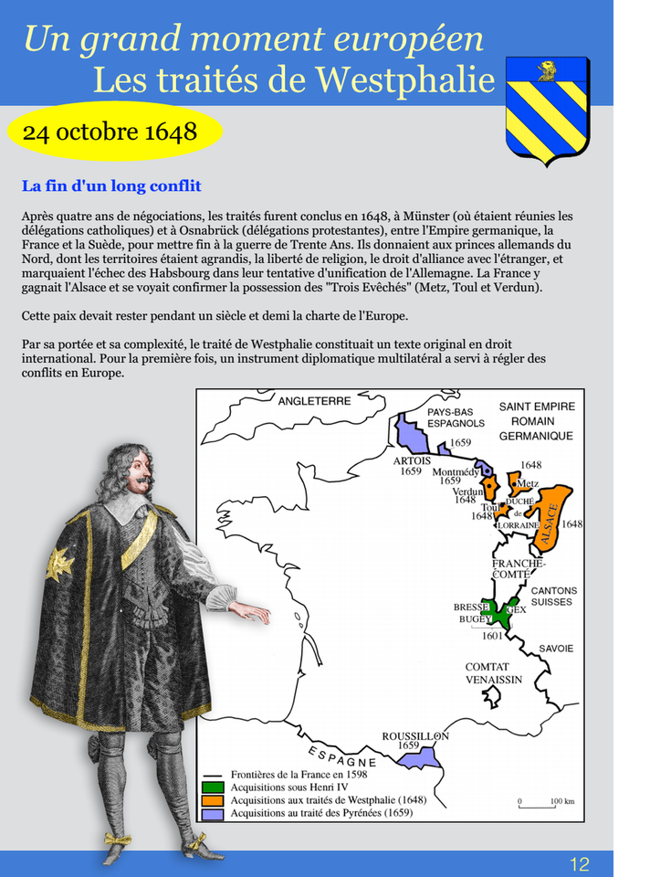 12-Un grand moment européen Les traités de Westphalie