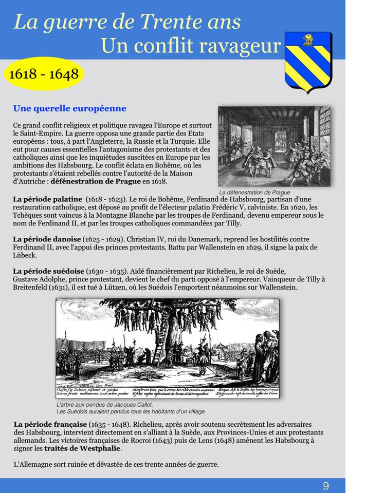 09-La guerre de Trente ans Un conflit ravageur