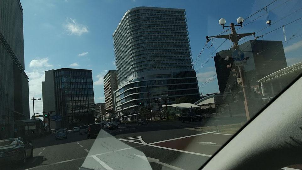 一番街に出来たビルの写真