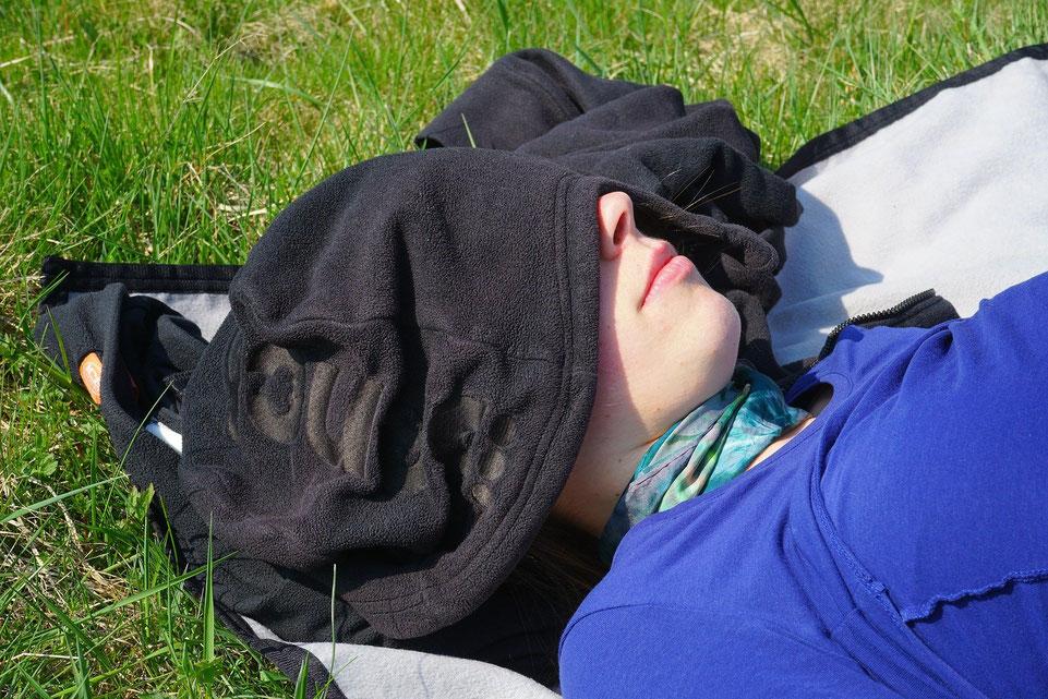 Schlaftrainng beruhigt das Gehirn und ermöglicht parasympathische Regeneration und Erholung mittels der Feldenkrais-Methode