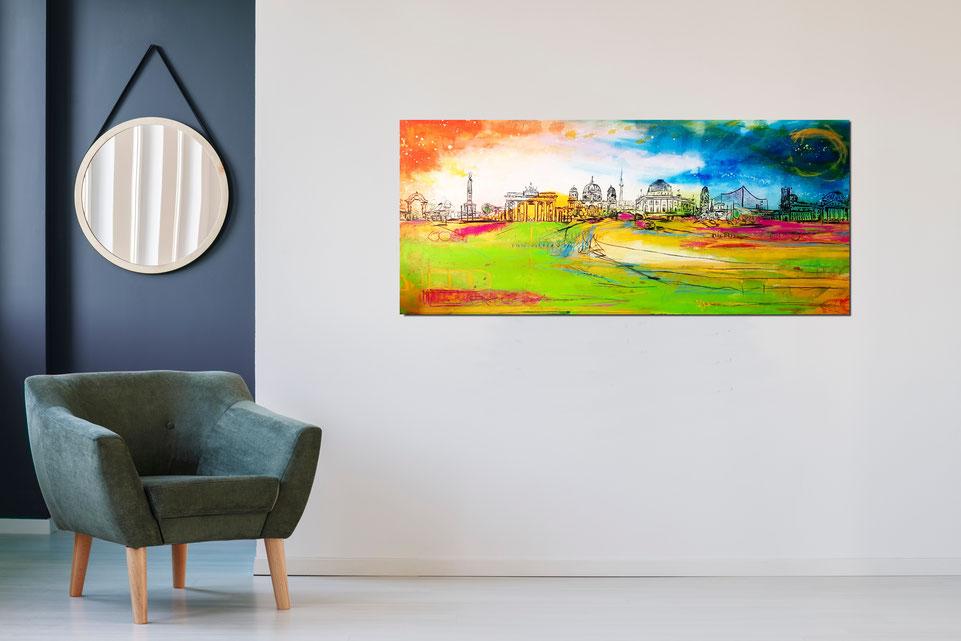 Bild Berlin gemalt