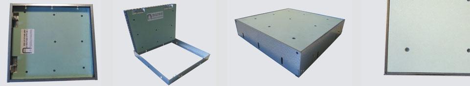 Einschub-Reviklappe F30 für Schachtwände