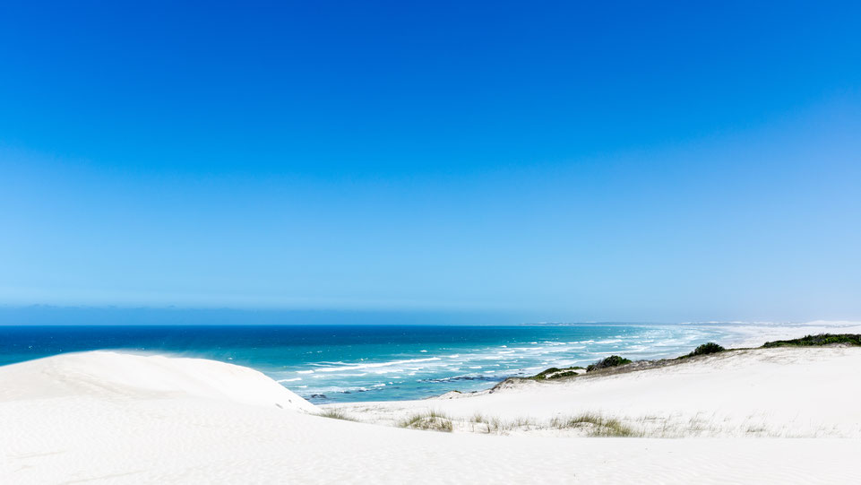 White dunes at De Hoop Nature Reserve