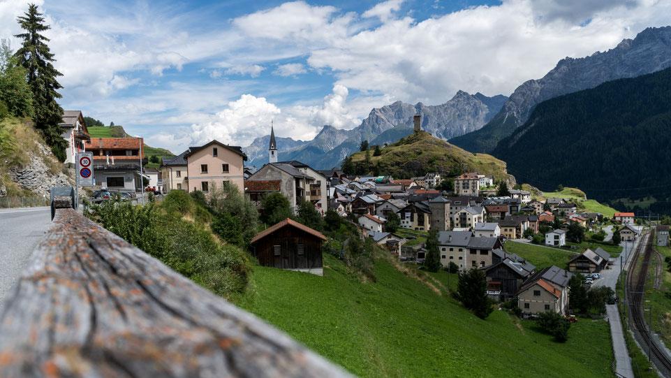 Engadin village of Ardez