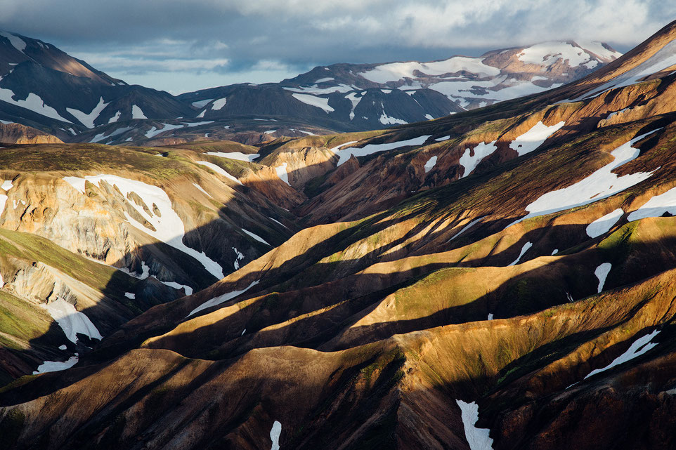 Rhyolite mountains in Landmannalaugar