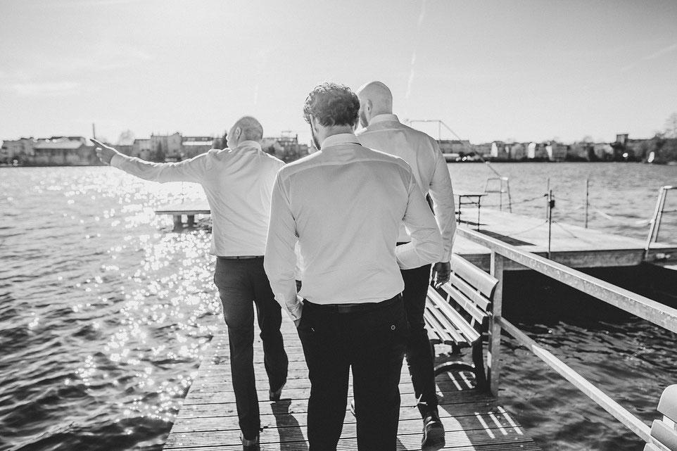 Hochzeit im Flussbad Köpenick