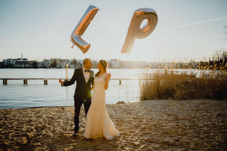 Hochzeitsfotos im Krokodil Köpenick