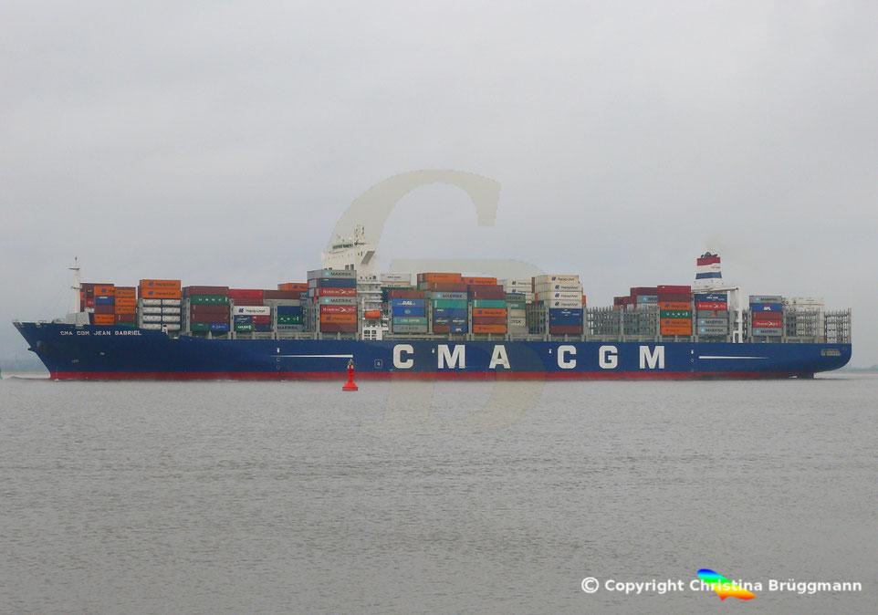 Containerschiff CMA CGM JEAN GABRIEL