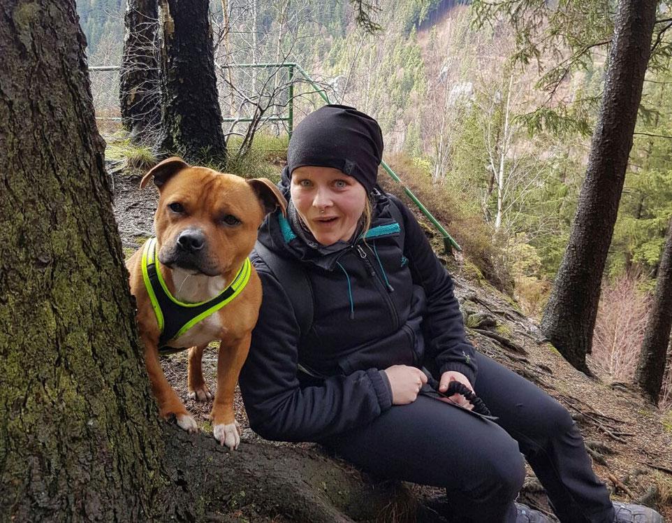 Wandern mit Hund, Wandern mit Kampfhund