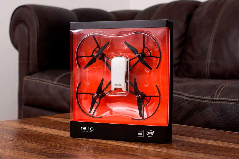 Dron Tello para entretenimiento y aprender a volar, patrocinado por DJI e Intel, siente la diversión