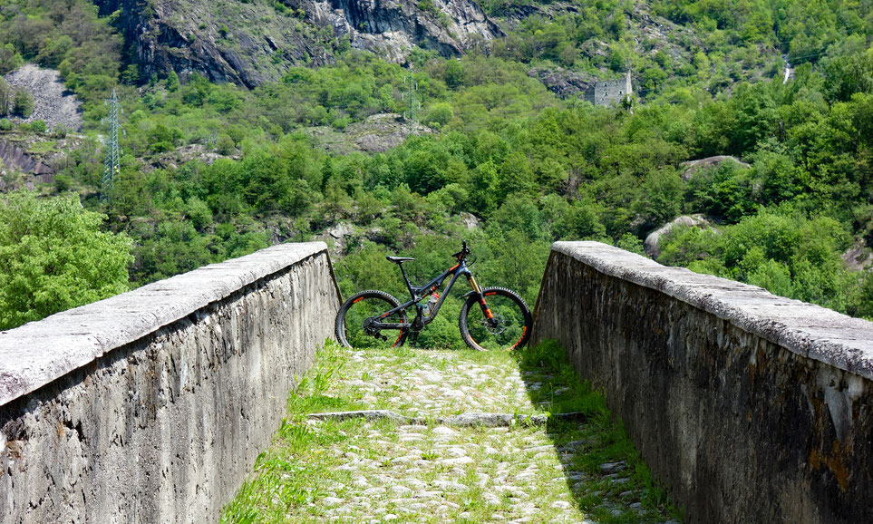 Alte Brücke in Pontemaglio