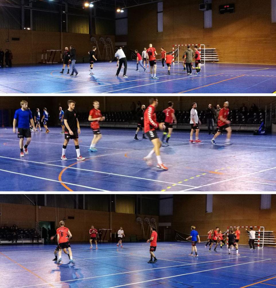 Triste weekend pour les seniors de la JA Isle Handball : défaite