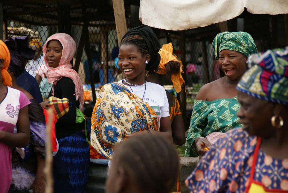 Lebensfreude in Gambia