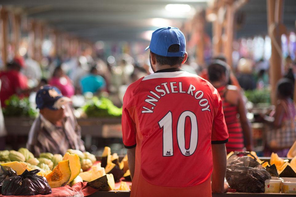 Market day in Centre de Flacq, Mauritius