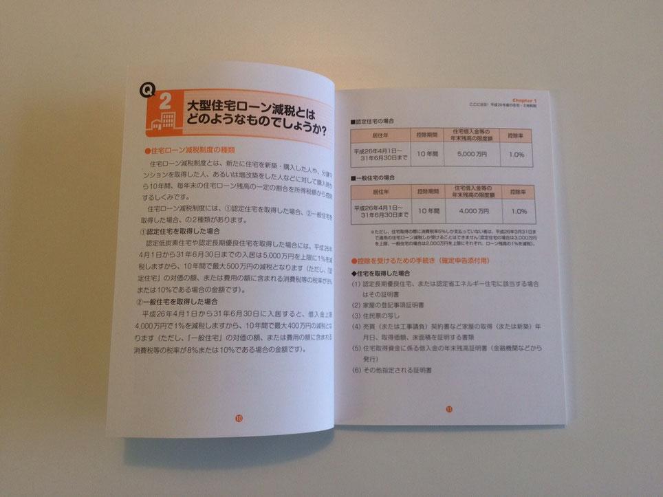 住宅ローン控除についてのページ
