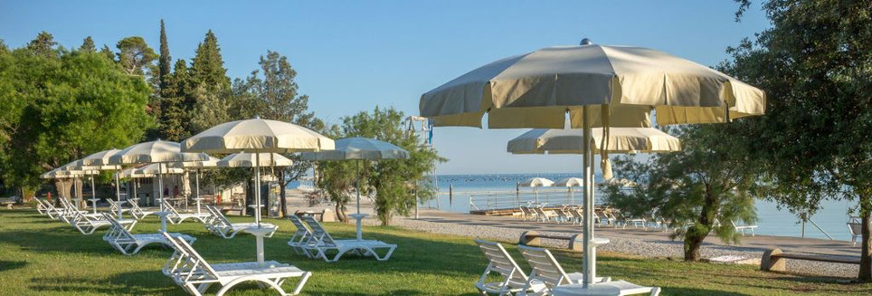 Strunjan, new organized beach