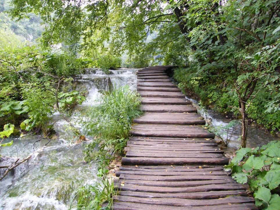 Plitvice Seen - Foto Vesna Rau