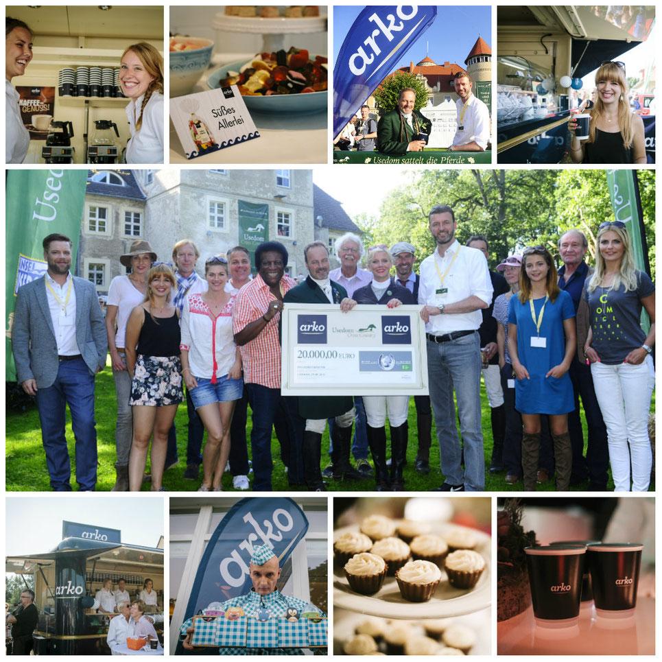 Wir danken der Firma arko für die grossartige Unterstützung des Usedom Cross Country und der Spende an die Welthungerhilfe