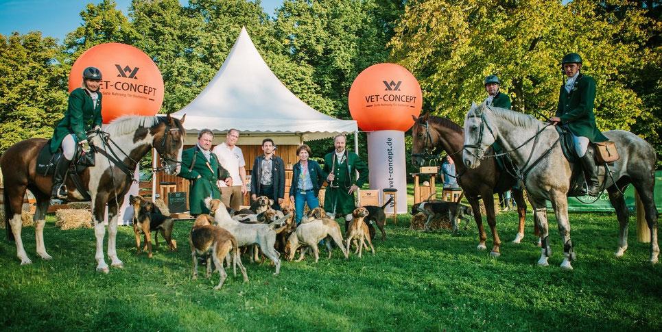 "Werbewirksamer Auftritt unseres Tierfutterpartner in 2014 ""VET CONCEPT"". Foto: Jana Lyons"