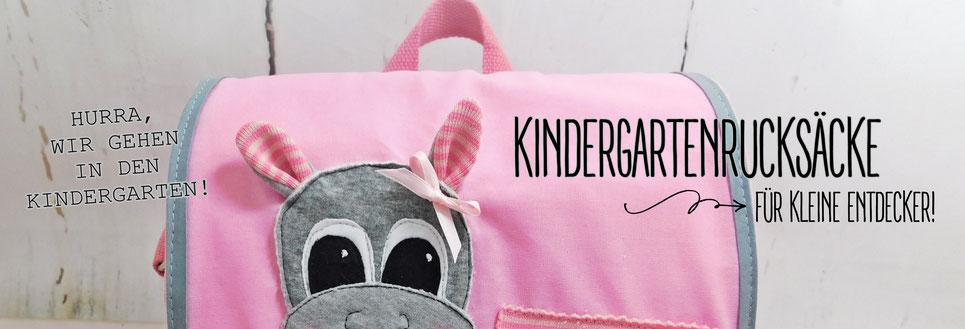 HURRA; WIR GEHEN IN DEN KINDERGARTEN! Kindergartenrucksäcke für kleine Entdecker!