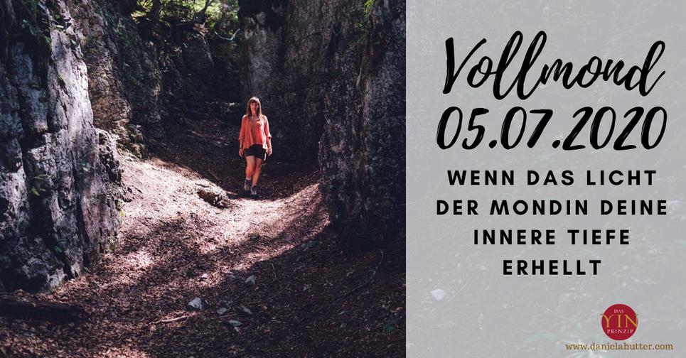 Daniela Hutter schreibt über die ZeitQualität und Energien  zu Vollmond am 05.07.2020 Sonne im Krebs Mond im Steinbock