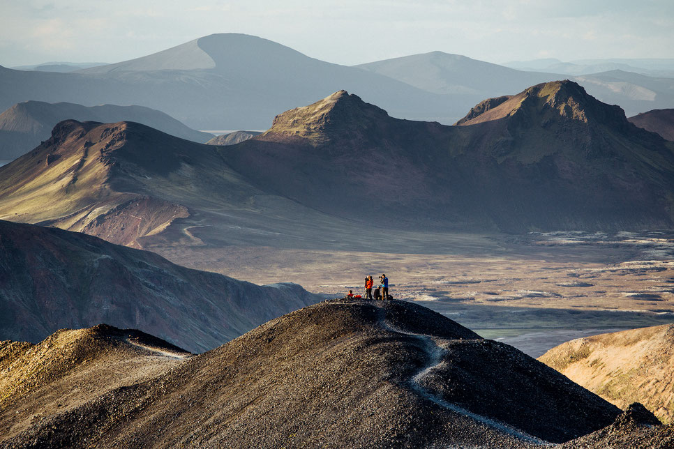 Guide to Landmannalaugar - The Gateway to the Icelandic Highlands. View from Blue Peak