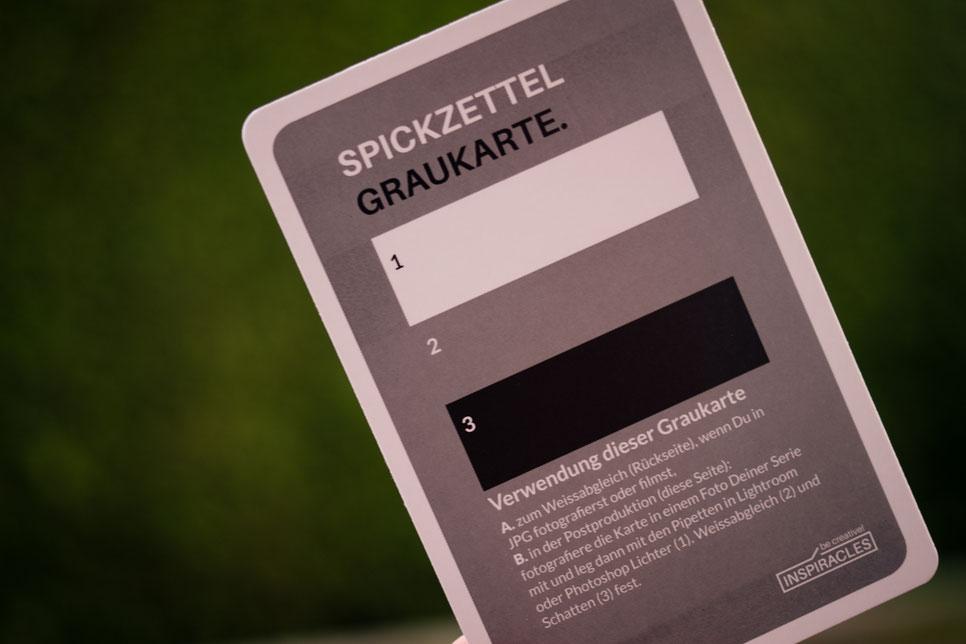 Inspiracles - Graukarte
