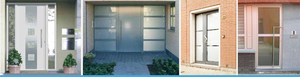 Alu deuren gelko specialist in ramen en deuren for Deuren specialist