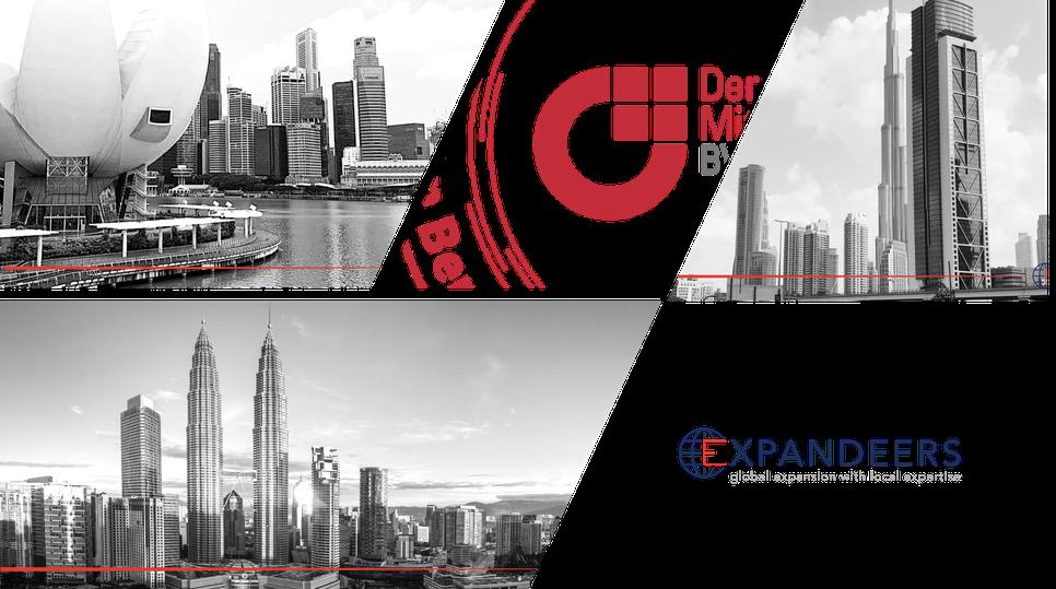 BVMW Online - Expandeers leitet die Auslandsbüros in Singapur, Dubai, VAE und Malaysia